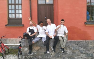 We are looking for a chef